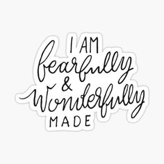 Jesus Quotes, Bible Quotes, Bible Verses, Christian Art, Christian Quotes, Fearfully Wonderfully Made, Typographic Design, Bible Art, Be Yourself Quotes