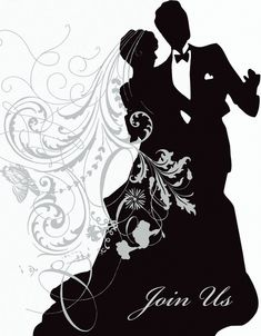 Silhouette Invitations