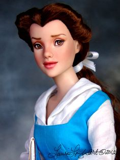 Belle Doll from Tonner's Beauty and the Beast collection.    http://www.laurieleighart.com/images/BelleBATB007.jpg