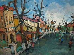 gregoire boonzaier - Google Search South Africa Art, South African Artists, Arts And Crafts, Scene, Passion, Paintings, Contemporary, Google Search, Street