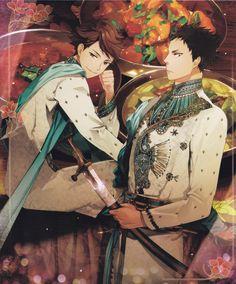 Artist: ZIS | Haikyuu!! | Iwaizumi Hajime | Oikawa Tooru