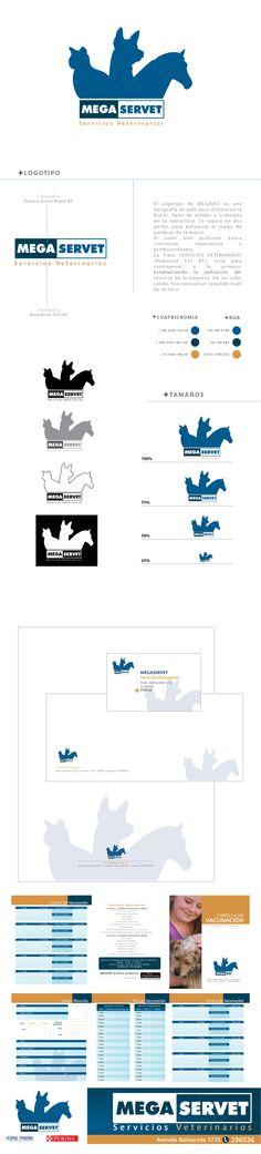 2009 / Megaservet on Behance #graphic #illustrator #branding
