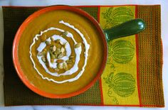 My Recession Kitchen...and garden: Roasted Pumpkin Soup