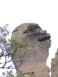 Monkey Face Rock is located in Terrebonne, Oregon in Smith Rocks State Park and is great for the mountain climbing athlete or the burrowing rock hounder.