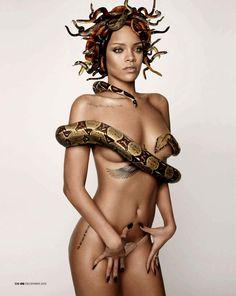 Rihanna by Mariano Vivanco for GQ
