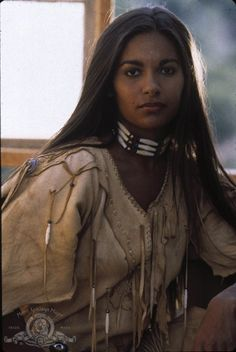 Native American beauty, actress Sally Richardson, native and black