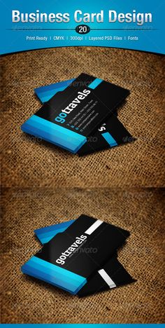 Buy Business Card Design 20 by enFusionThemes on GraphicRiver. Excellent for any type of business and/or personal use. Extra File Information F. Buy Business Cards, Double Sided Business Cards, Professional Business Cards, Business Card Design, Corporate Business, Corporate Identity, Print Templates, Psd Templates, Bussiness Card