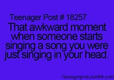 Then I️ realize I️ was singing I️t out loud without even knowing I️t.