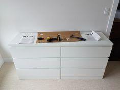 IKEA furniture assembly MALM 6-drawer
