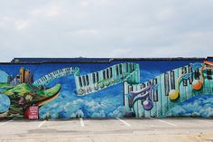 dallas graffiti | Dallas - Quixotic Venue Graffiti Wall | Flickr - Photo Sharing!