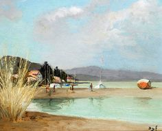 """dyf marcel beach at provence 1975 (from <a href=""""http://www.oldpainters.org/picture.php?/24686/category/11484""""></a>)"""