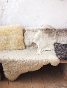 Layered Sheepskins by Carla Zwart of Met Melt & Suiker