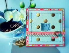 Fun card made with the Mini Memories Simply Created Kit