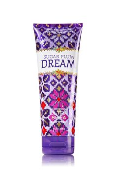 Bath & Body Works Sugar Plum Dream Ultra Shea Body Cream Full size 8 ounce tube Limited Edition - Holiday Traditions Collection Discontinued Key Notes: Sparkling Sugar Plum, Winter Citrus, Snowdrop Blossoms, Vanilla Orchid and Sugared Musk Bath N Body Works, Cream Baths, Ultra Shea Body Cream, Perfume Packaging, Cocoa Butter, Shea Butter, Body Butter, Body Lotions, Body Spray
