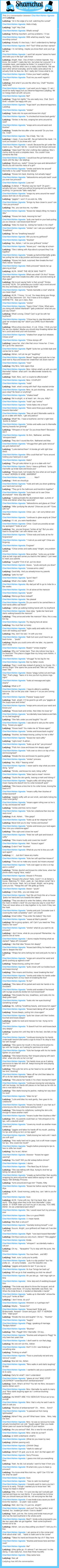 A conversation between Ladybug and Chat Noir/Adrien Agreste