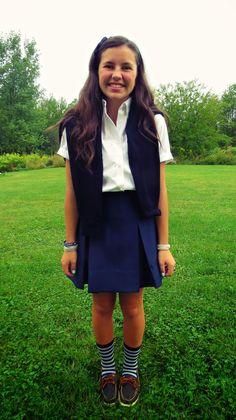 Styling my School Uniform