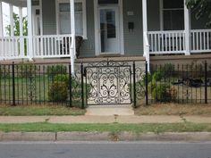 By Appalachian Ironworks .com  roanoke virginia  decorative iron gate