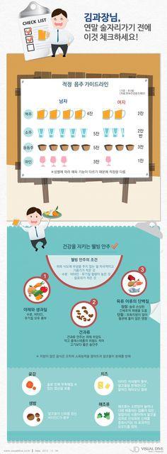 """[인포그래픽] 술자리 많은 연말, 건강을 지키는 방법은? #alcohol / #Infographic"""" ⓒ 비주얼다이브 무단 복사·전재·재배포 금지"""