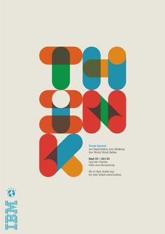 IBM Think Poster