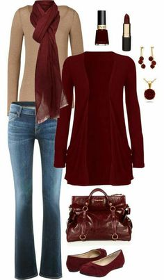what shoes to wear with maroon dress best outfits Source by AuroreKohant dress maroon Mode Outfits, Casual Outfits, Fashion Outfits, Womens Fashion, Fashion Trends, Trendy Fashion, Fashion Clothes, Casual Wear, Fashion Ideas