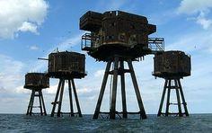 Maunsell-Seefestung in Großbritannien