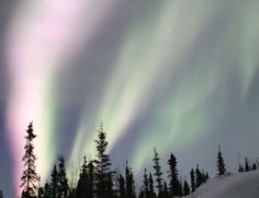 Aurora caused by the solar flare last week. There is another solar flare heading at us so more Auroras