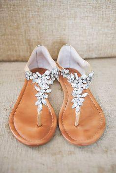 87579055f4ff32 18 Wedding Sandals You ll Want To Wear Again ❤ Perfect for summer beach  wedding