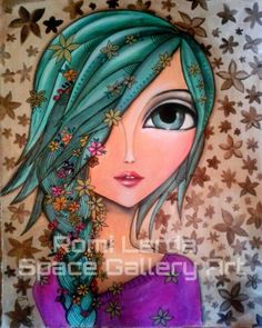 Face. ROMI LERDA Artista plastica. PAGE. SPACE GALLERY ART by ana