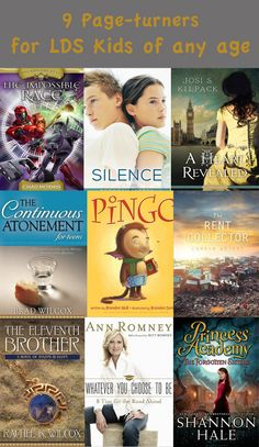 9 Page-turners for LDS Kids of any age