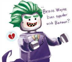 Rip. Lego Batman Movie, Batman Vs, Joker Art, Gay, Riddler, Animated Cartoons, Teen Titans, Gotham, Art Blog