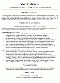 administrative assistant resume 4 make a resumegood - What Makes A Good Resume