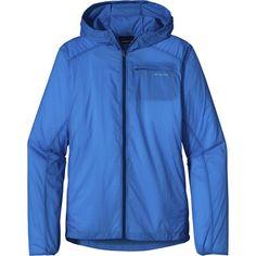 Patagonia Houdini Full-Zip Jacket - 4oz water-resistant Deluge DWR coating - slim fit