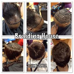 Crochet Braids With Alopecia : Client w/severe alopecia wanted crochet braids. I sewed on weaving ...