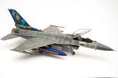 1/48 Hasegawa F-16 Turkish Airforce Nato Tiger Meet 2012 Special Livery. Modeller. Ercan Karakaş.