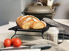 Kartoffelbrot gebacken im Ofenmeister | Pampered Chef Bread, Food, Tricks, Super, Pampered Chef Recipes, Thermomix Bread, Brot, Essen, Baking