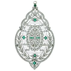Edwardian pendant/brooch. This is a wow.