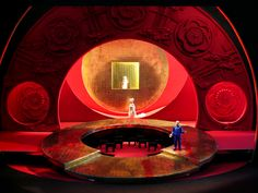 Minnesota Opera's Turandot. Renaud Doucet director, André Barbe sets and costumes design.