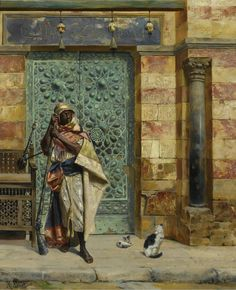 The Nubian Guard, Rudolph Ernst