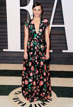 Rashida Jones Vanity Fair Oscar Party