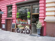 Flower shop in Szczecin