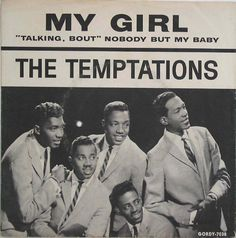 'My Girl'- The Temptations... As a little girl my dad used to swing me around and make me dance with him this tune. Father-Daughter dance option:)