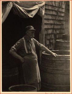 """The Cooper of Gloucester"" - Doris Ulmann Photographic Collection (University of Kentucky)"
