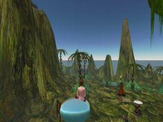 Svarga3 (ecological island) - Second Life 30 Sep 2006