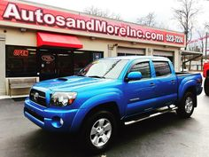 2011 #toyota #tacoma #sr5 #trd #sport #offroad #4x4 #double #v6 #epic #knoxville #tn #forsale #autosandmoreinc #snowday