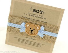 Beautifully handcrafted baby shower invitations, christening and baptism invites and more!