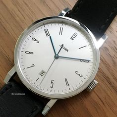 Stowa  ad: £1,417 Stowa Antea Museum Limited Edition – Mens watch - 2010 Automatic; Condition 1 (mint); Location: Netherlands, Assen