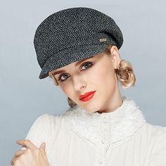 99013b38bbe Fashion beret newsboy cap for women knit winter hats Summer Hats For Women