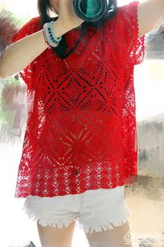 Red _ _ knitting crochet works show life forum