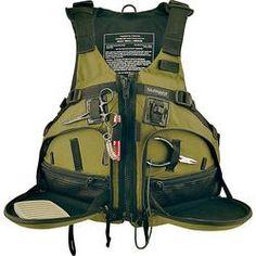 Stohlquist WaterWare Fisherman Fishing Kayak Life Jacket