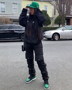 Cute Swag Outfits, Tomboy Outfits, Chill Outfits, Tomboy Fashion, Teen Fashion Outfits, Dope Outfits, Retro Outfits, Black Girl Fashion, Streetwear Fashion